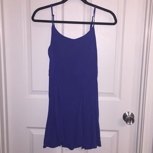 American Eagle Blue Skater Dress